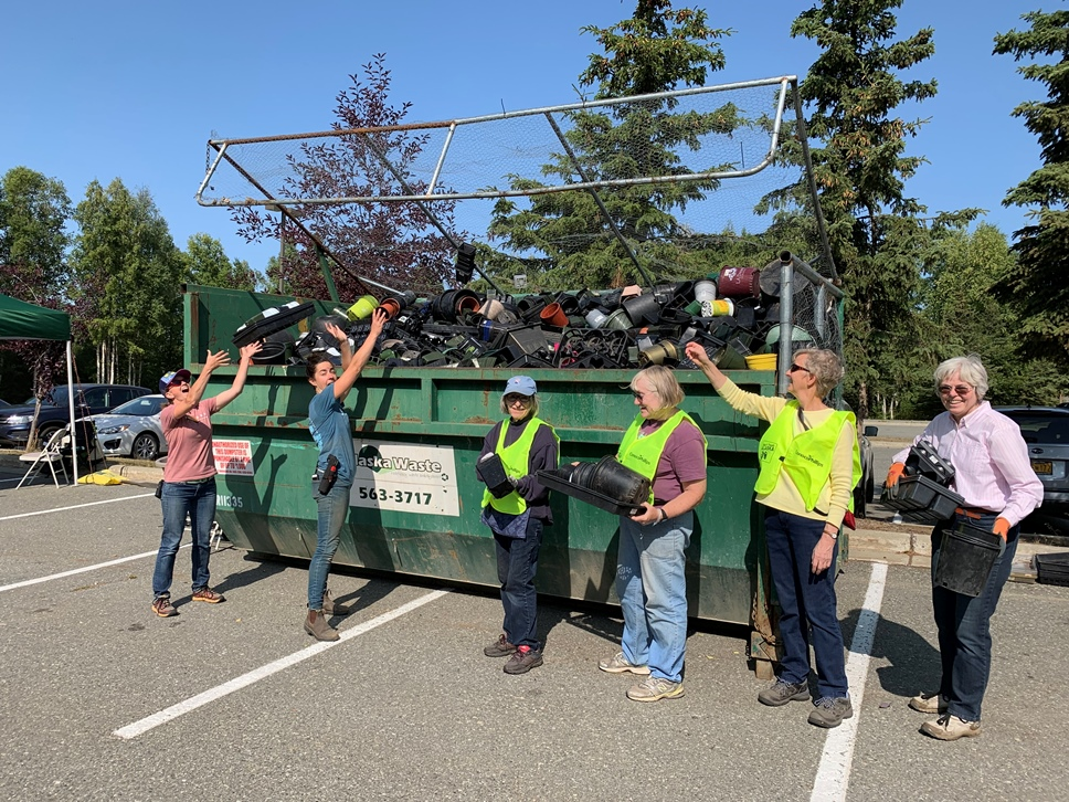 Anchorage Botanical Garden Recycling