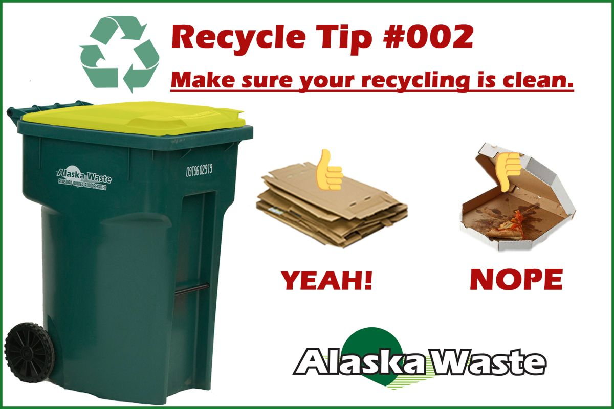 Keep recycling clean.