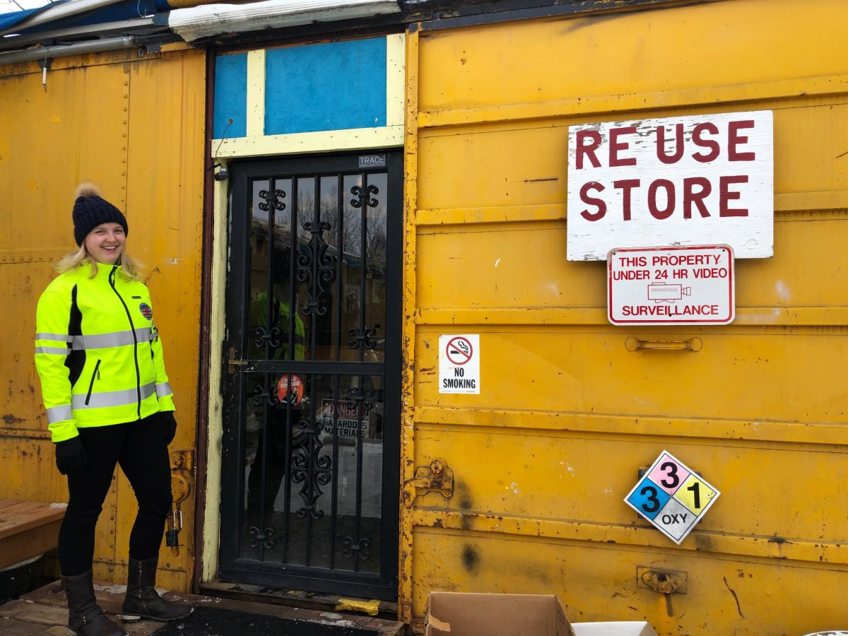 Recycling Coordinator at Reuse Store.